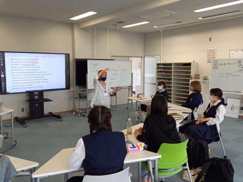 筑坂国際バカロレア英語授業風景